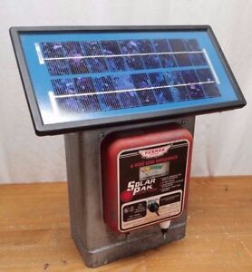 Parmak Precision Df sp li Electric Fence Solar Pak Electric Fencer 6 Volt