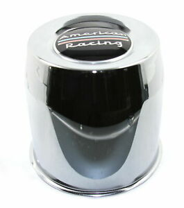 American Racing Chrome Center Cap 8l Ar901 Ar923 Mod 12 Ar172 Baja Ar767 Ar910