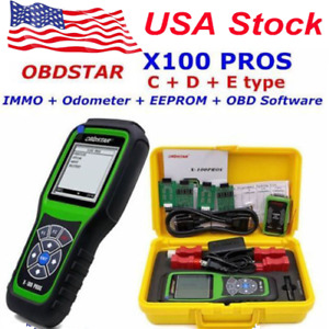 Obdstar X100 Pros Immobilizer Programmer Odometer Adjustment Eeprom Adapter
