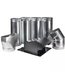 Master Flow 7 In Appliance Vent Kit Roof