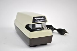 Vintage Panasonic Commercial Electric Stapler As 300 Made In Japan Mid Century