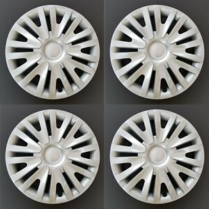 New Wheel Covers Replacements Fits 2010 2014 Volkswagen Golf Silver 15 Set Of 4