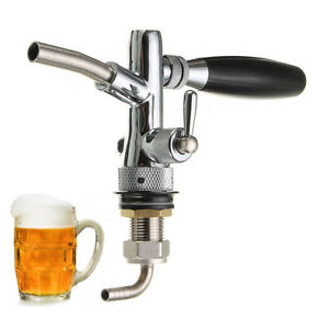 Adjustable Draft Beer Faucet Home Brew Dispenser With Flow Controller For Keg Ta