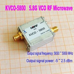 New 5 8g 5800mhz Vco Rf Microwave Vco Sweep Source Signal Generator