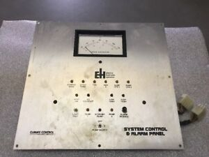 Electro Hydronic Systems System Control Alarm Panel Boiler Temperature Euc Ws31
