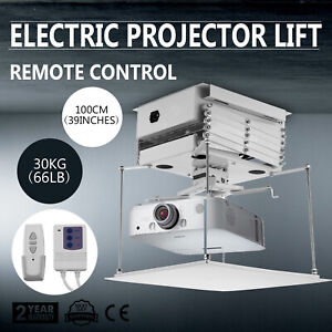 Quality Motorized Remote Control Electric Scissors Projector Lift Ceiling Mount