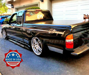 Fit 1995 2004 Toyota Tacoma Extended Cab Ltd Short Bed Rocker Panel Trim N f