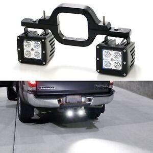 3 Hitch Mount Bracket Tow Trailer For Led Backup Reverse Search Offroad Lights