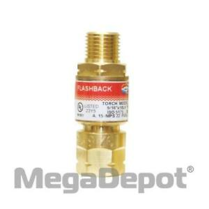 Uniweld Rfam101 Regulator Fb Arrestors For Acetylene a Fittings