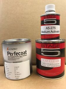 1 Quart Ready To Spray Paint W Quart Clear Kit For Chrysler Dodge Jeep