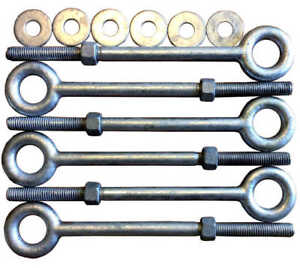 Eye Bolts 2 5 To 12 Drop Forged Hot Dipped Galvanized Steel Eye Bolt Eyebolt