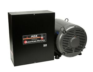 Extreme Duty American Rotary Phase Converter Adx50 50 Hp Digital Smart Series