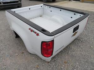 2015 2016 Chevrolet Colorado Extended Cab Truck Bed Box White