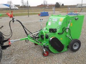 Collection Flail shredding Mower peruzzo Panther 1200 48 Adjustable Transport