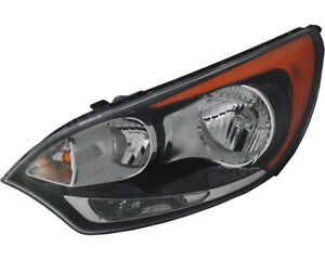 Headlight Assembly w o Led Left Driver Side For 12 16 Kia Rio Hatchback