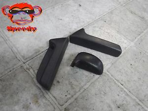 96 97 98 99 00 Honda Civic Seat Recliner Pull Handle Trim Cover Coupe D Gray