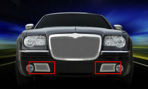 Formed Mesh Grille Lower Bumper Insert For 2005 2010 Chrysler 300c