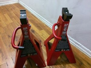 Torin Big Red 12 Ton Capacity Jack Stands