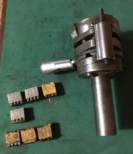 H g Geometric Die Head Dms Size 101 Chasing Sets Machinist Tool Turret Lathe
