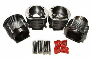 Qsc Porsche 912 356 86mm Big Bore Cylinder Piston Kit 4 Ring