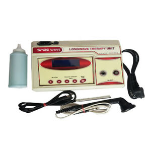 Longwave Diathermy Continuos Pulse Electrotherapy Physiotherapy With Lcd