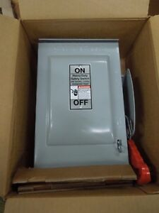 Siemens Hnf361r Heavy Duty Non fused Safety Switch 30a 600v Nema 3r Outdoor New