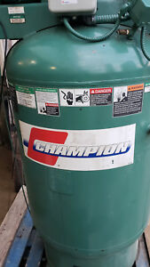 Champion Vr10 12 Air Compressor 35cfm 3ph 10hp With Air Dryer