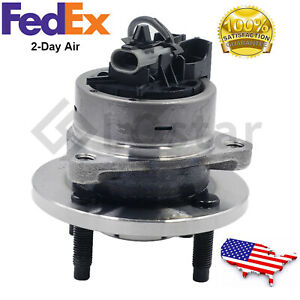 Wheel Hub And Bearing Assembly Fits Chevy Cobalt G5 Lon 4 Lug W Abs