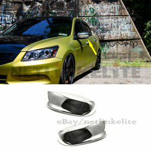 Fit For 2008 2009 2010 2011 2012 Honda Accord Chrome Mirror Covers