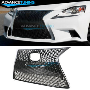 For 14 16 Lexus Is250 Is350 F Sport Factory Oe Style Front Bumper Grille Guard