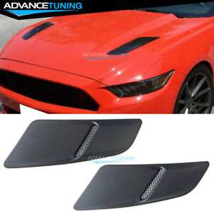For 15 17 Ford Mustang Gt Oe Style Front Hood Scoop Heat Extractor Insert Vent