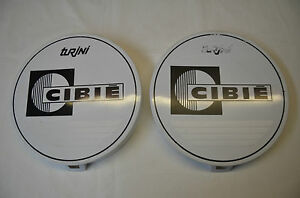 Genuine Cibie Turini Driving Spot Light White Covers 4wd Old New Stock