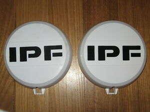 Ipf Round 900 White Driving Spot Light Covers 4wd 4x4 Brand New
