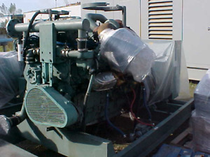 1 Detroit 500kw Skid Mounted Generator