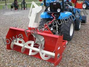 Red Farm King Y500 50 Tractor Pto Snow Blower 4bladefan skidshoes bestbuy