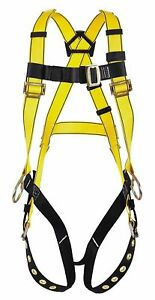 Msa 10072491 Workman Harness Yellow Vest Style Same Day Shipping