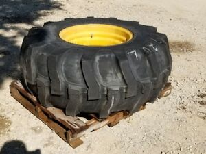 New Denman 21l 24 Tire Wheel Rim R4 12 Ply John Deere 710d Loader Backhoe Tx