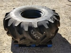 Used Goodyear 23 1 26 Tire Wheel Rim 10 Ply R1 Vibromax Compactor Roller Tx