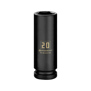 Powerbuilt 1 2 Inch Drive X 20 Mm 6 Point Deep Impact Socket 647192