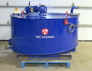 Tec System Mr1000 Electric Agitator Mixer Mortar Grout Concrete Mud Slurry