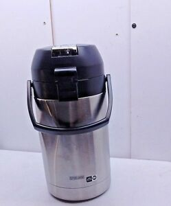 Bunn Airpot Coffee Cocoa Chocolate Beverage Thermal Stainless Steel Dispenser