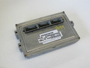 2003 03 Dodge Dakota 3 9l Engine Computer Ecu Ecm Pcm Brain Box