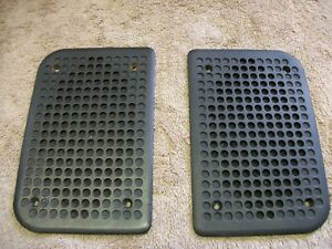 Porsche 944 Door Speaker Grills Original