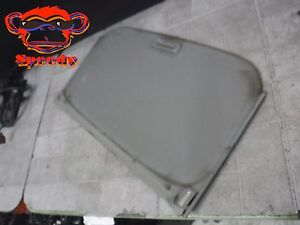 90 91 92 93 Acura Integra Under Sun Roof Sunroof Cover Visor Gray Grey 2dr 3dr