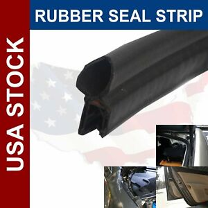 60 Car Auto Suv Truck Camper Door Rubber Weather Strip Seal Edge Trim Universal