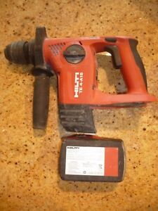 Hilti Te 4 a18 Cordless Rotary Hammer Drill Sds Body Battery Only