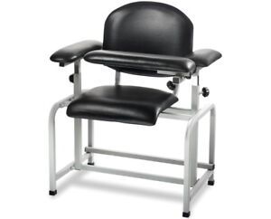 Adirmed Black Padded Blood Drawing Chair