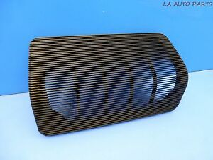 Porsche 924s 944 Early Dash Speaker Cover Black 477857187