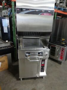 Wells Vcs 2000 Ventless Hood With Grill And Oven
