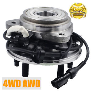 Wheel Hub And Bearing Assembly Fits Ford Mazda Mercury 4wd Awd W Abs